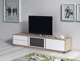 mueble tv low cost kibuc