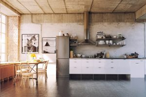 decoracion industrial chic