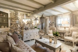 decoracion salones shabby chic