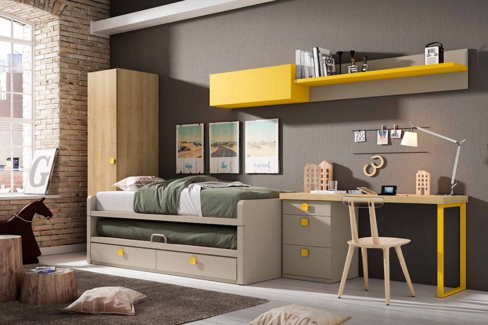 Ideas para decorar dormitorio minimalista.