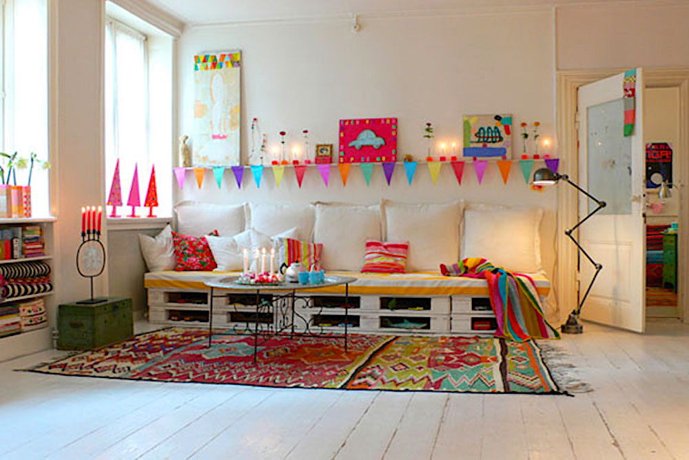 ideas para decorar con palets