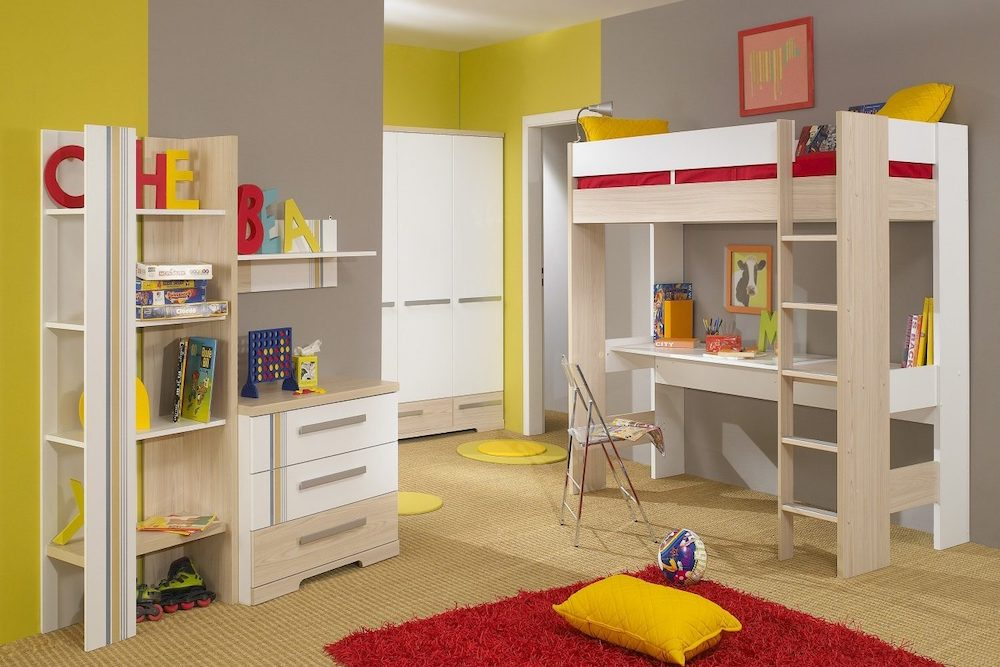 ideas para decorar dormitorios juveniles grandes